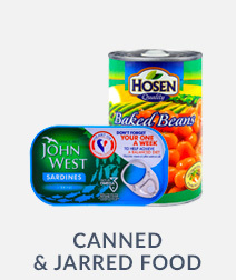 Canned & Jarred Food