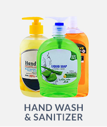 Hand Wash & Sanitizer