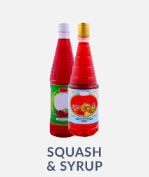 Squash & Syrup Flavors