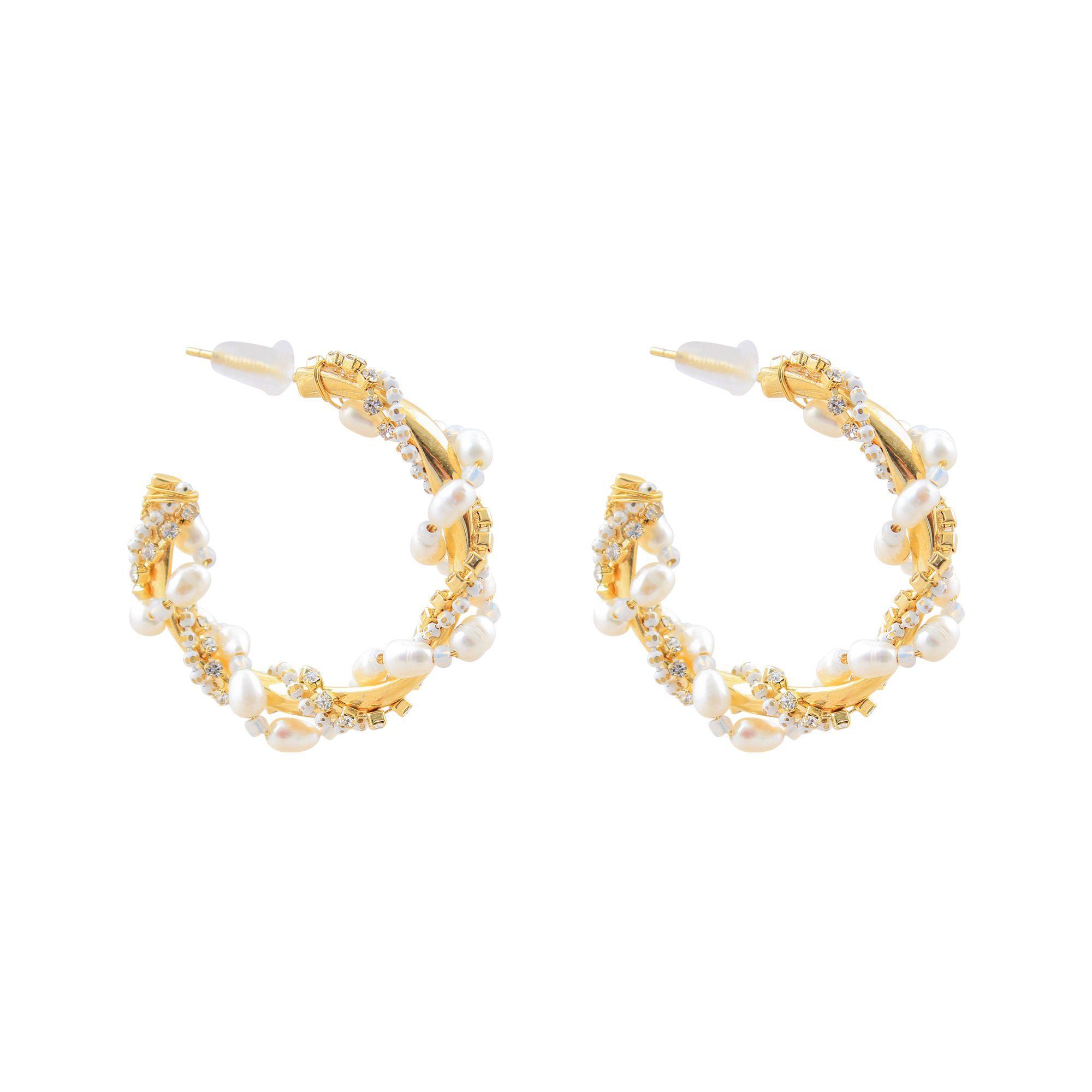 Pearl Bali Girls Earrings Ns 0136