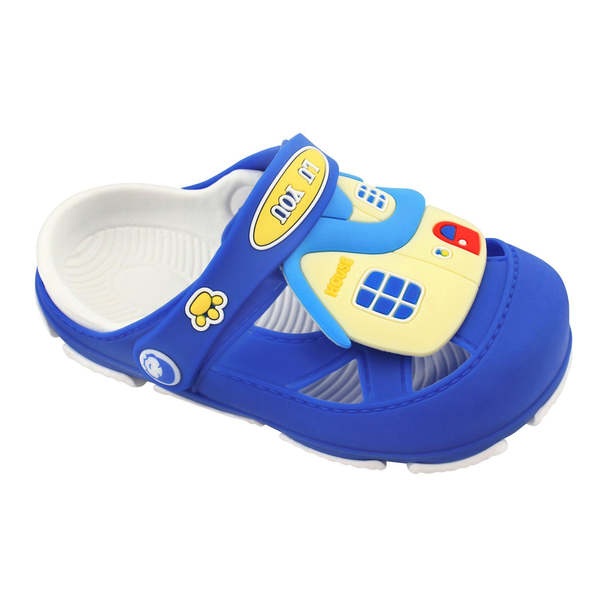 Buy Baby Crocs Kids Sandals, F-3, Blue