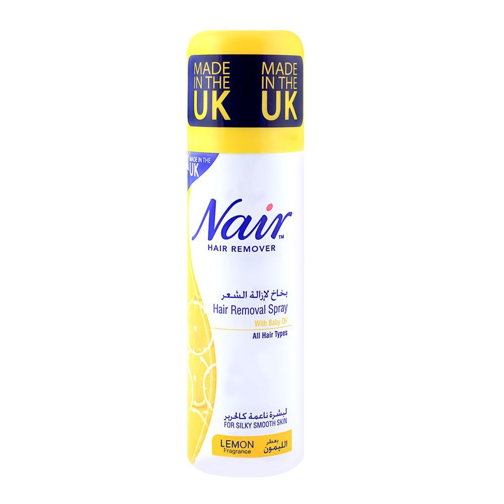 Purchase Nair Lemon Silky Smooth Skin Hair Removal Spray 200ml