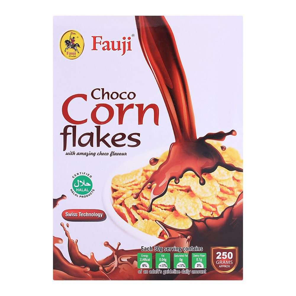 Order Fauji Choco Corn Flakes 250gm Online At Special Price In Pakistan Naheed Pk