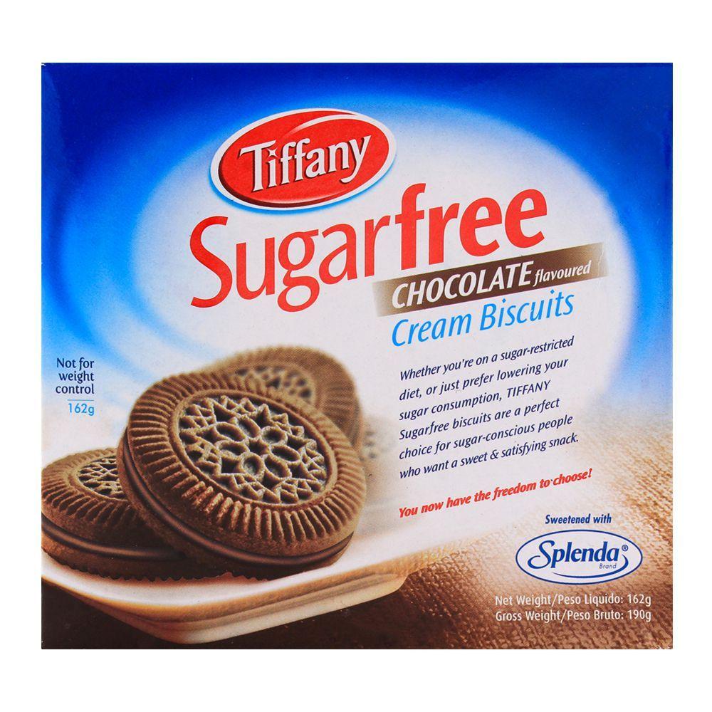Tiffany Sugar Free Chocolate Biscuit 162gm