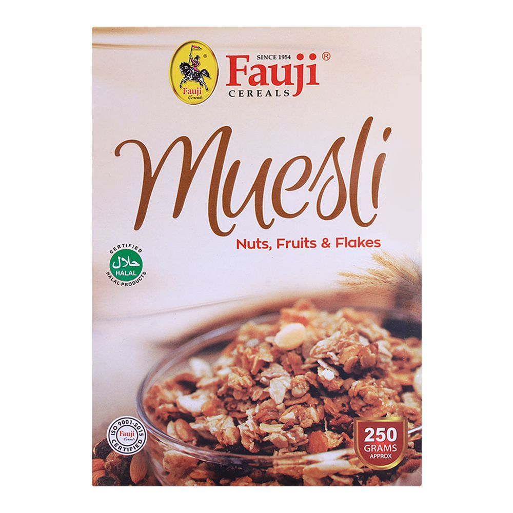 Buy Fauji Muesli Cereals 250gm Online At Best Price In