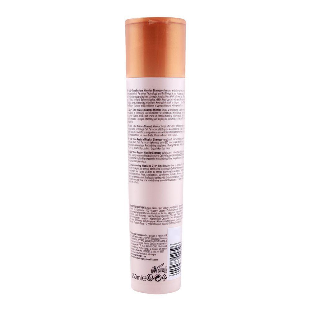 dc6f0c5084 Order Schwarzkopf Bonacure Q10 Time Restore Shampoo 250ml Online at ...