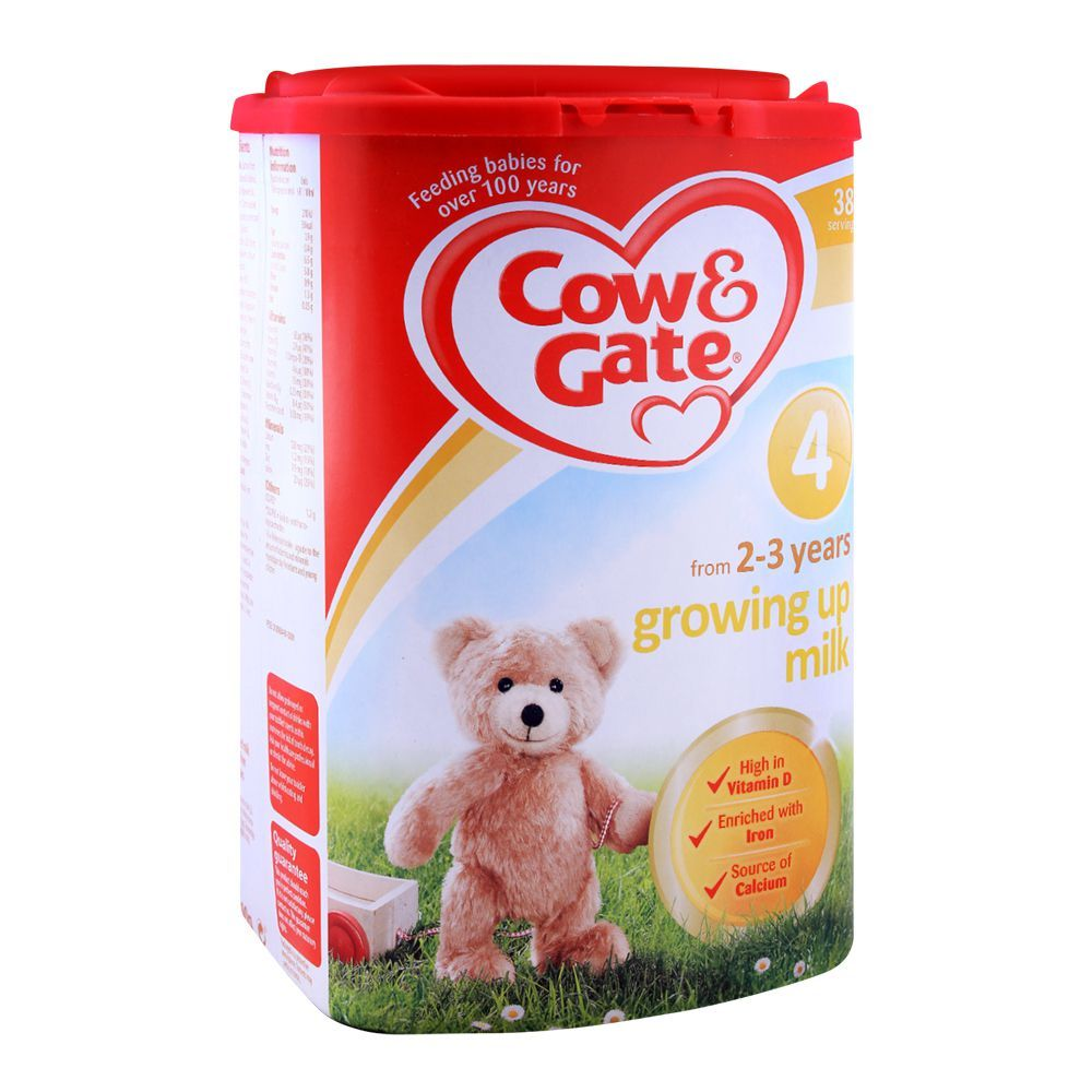 Cow & Gate Growing Up Milk No  4, 800gm