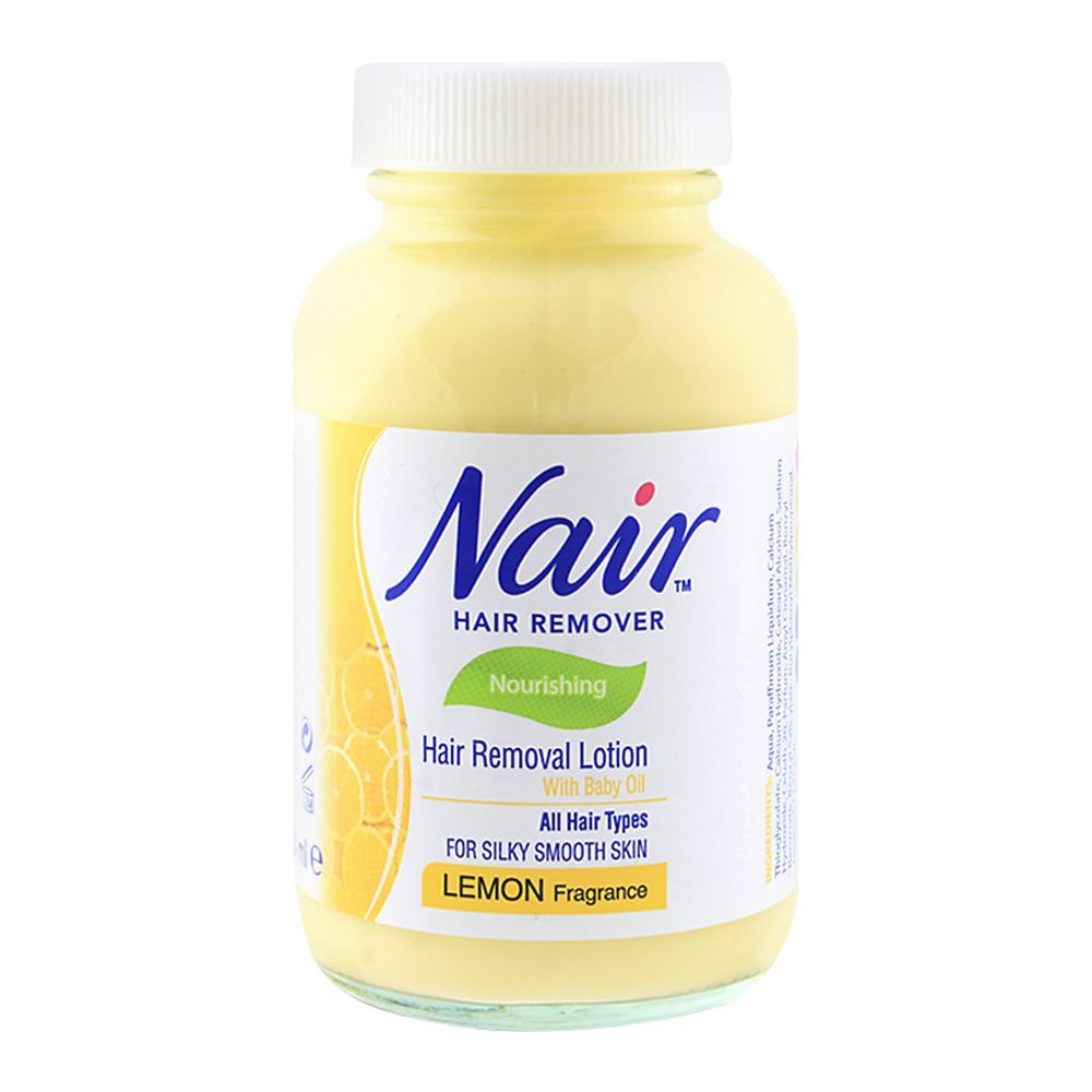 Purchase Nair Lemon Nourishing Hair Removal Lotion 120ml Online At