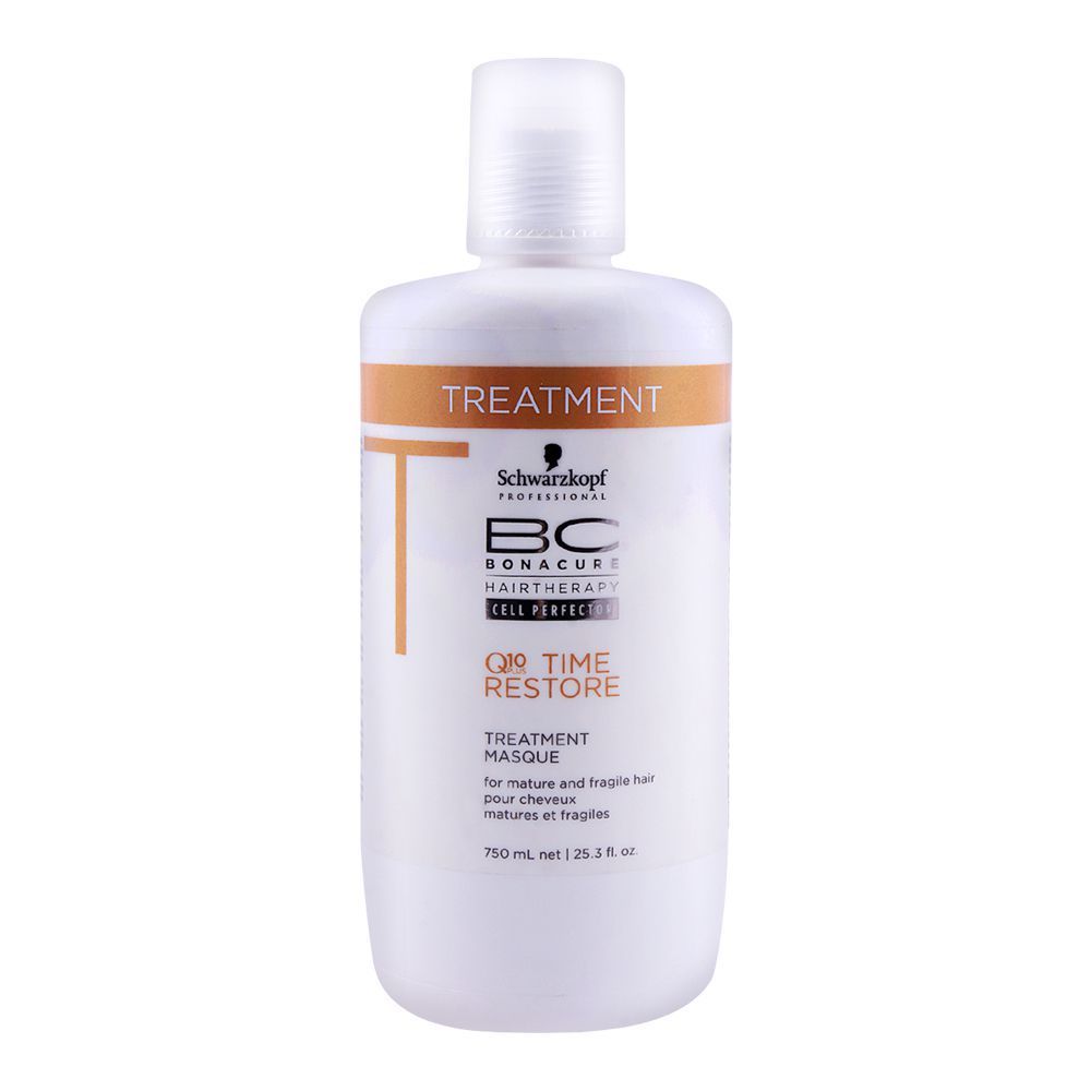 30bec64e0b Buy Schwarzkopf Bonacure Q10 Time Restore Treatment 750ml Online at ...