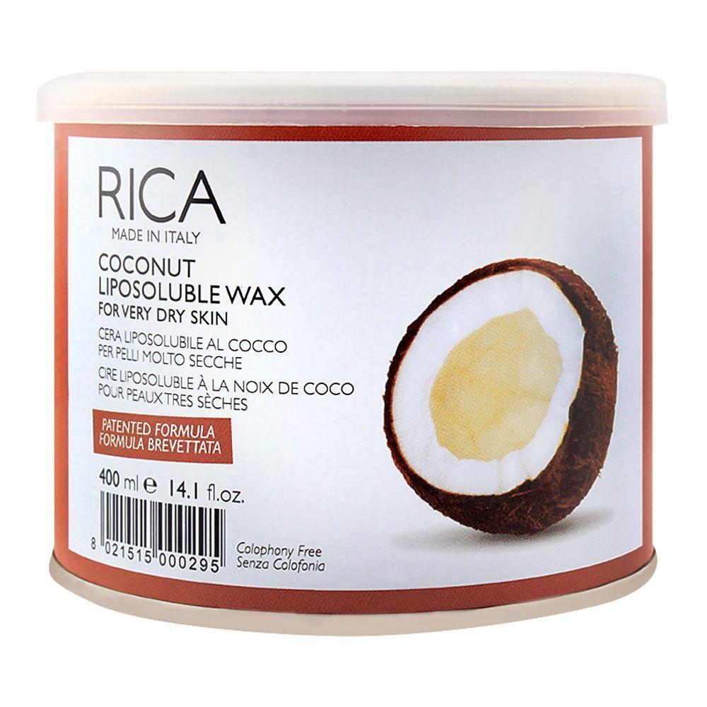 Buy RICA Coconut Dry Skin Liposoluble Wax 400ml Online At