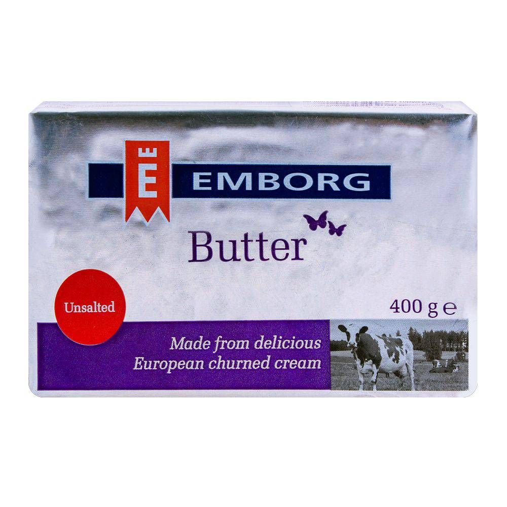 Purchase Emborg Butter Unsalted 400g Online At Special Price In Pakistan Naheed Pk