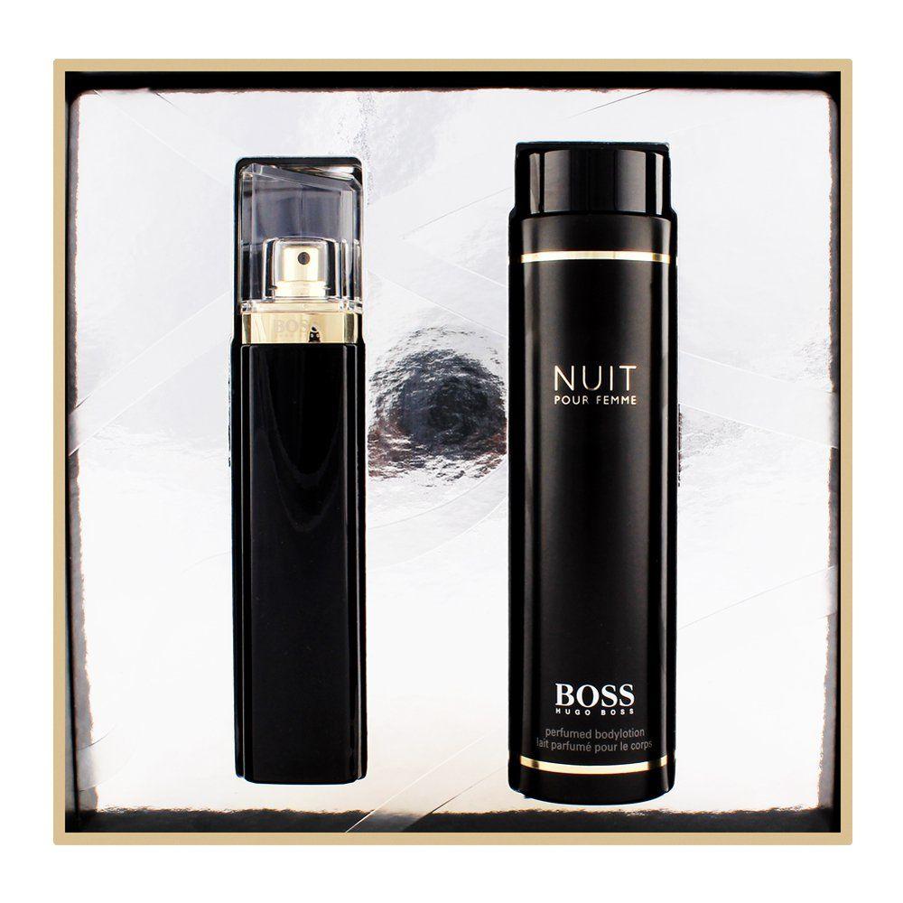 Order Hugo Boss Nuit Pour Femme Eau De Parfum 75ml Lotion 200ml