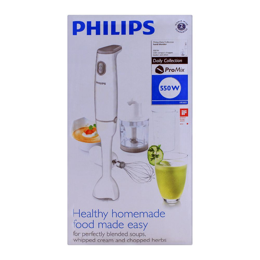 Philips Daily Collection Hand Blender, HR1603