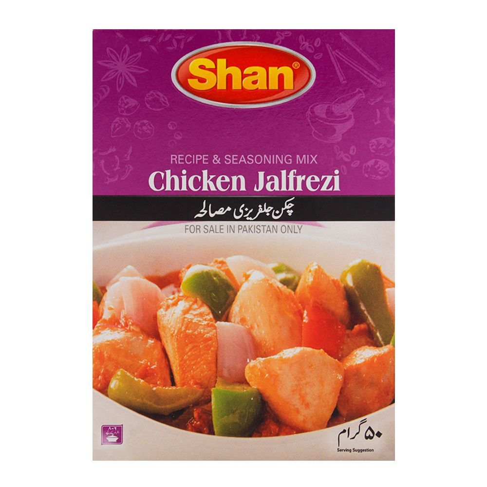 Order Shan Chicken Jalfrezi Mix Recipe Masala 50gm Online At Special Price In Pakistan Naheed Pk