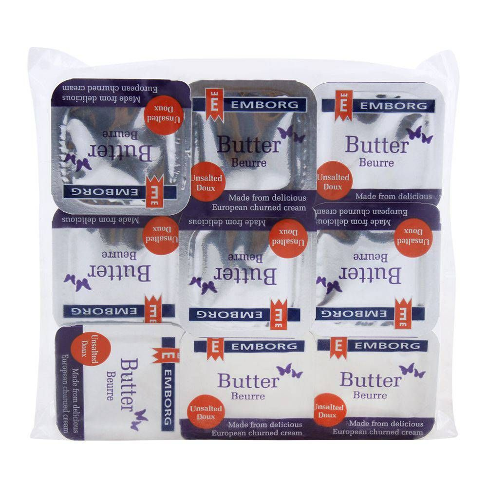Buy Emborg Butter Unsalted 9x8g Online At Special Price In Pakistan Naheed Pk