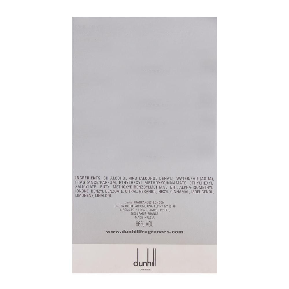 Dunhill Desire Silver Eau de Toilette 100ml