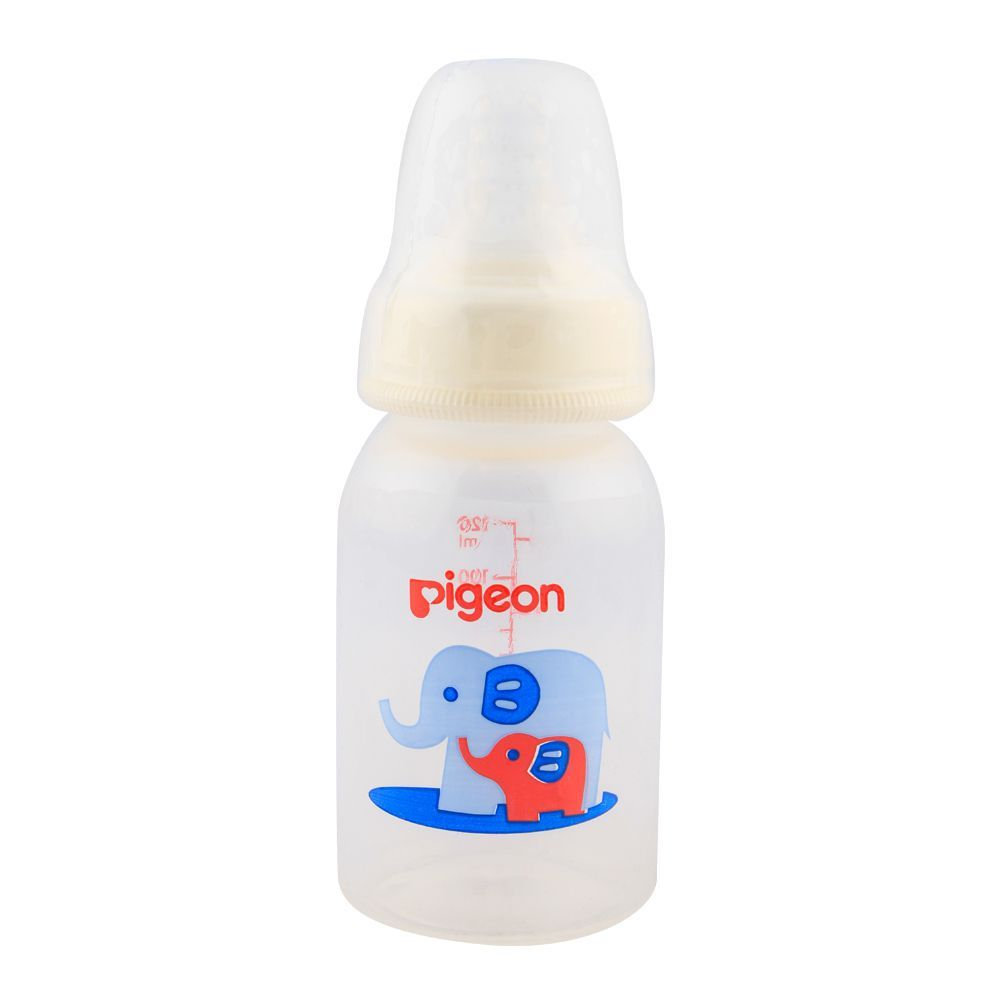 591267d44 Pigeon Peristaltic Nipple Round Nursing Bottle 120ml A-26376