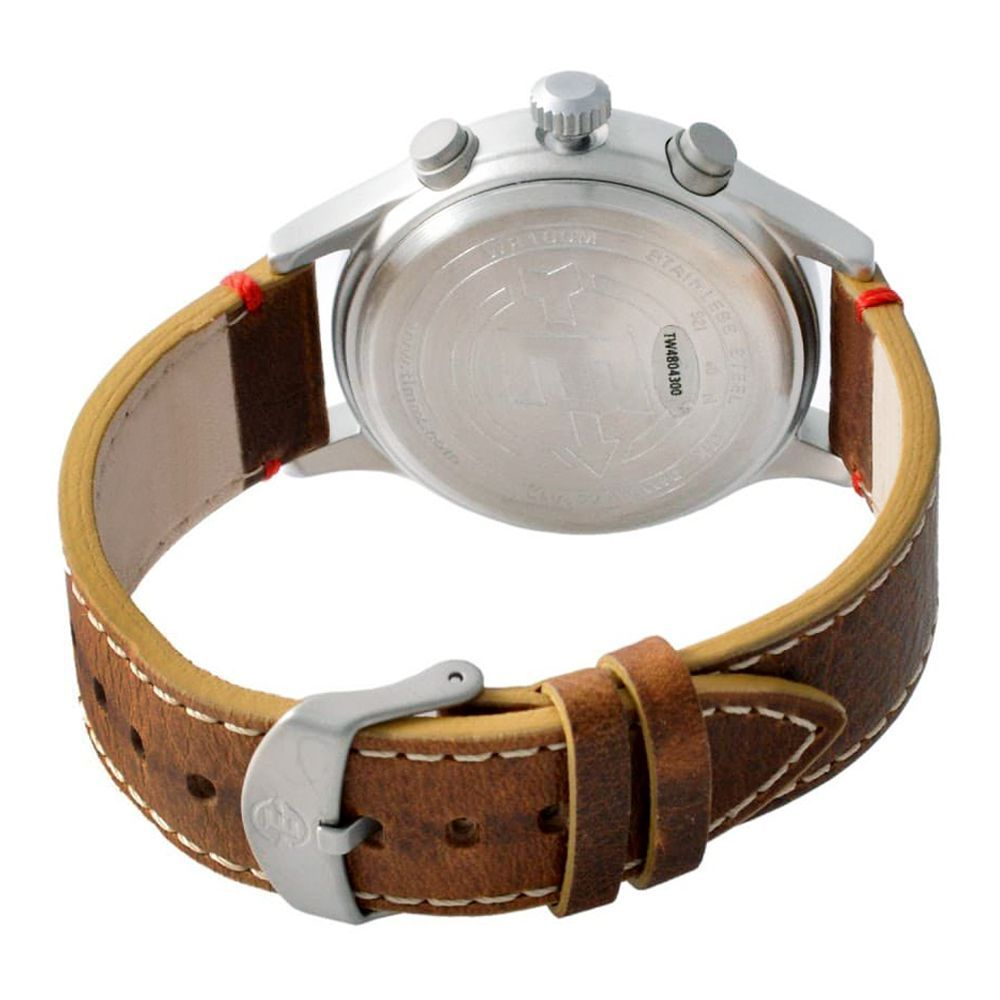 b83a59696 Purchase Timex Men's Expedition Scout Leather Chronograph Watch ...