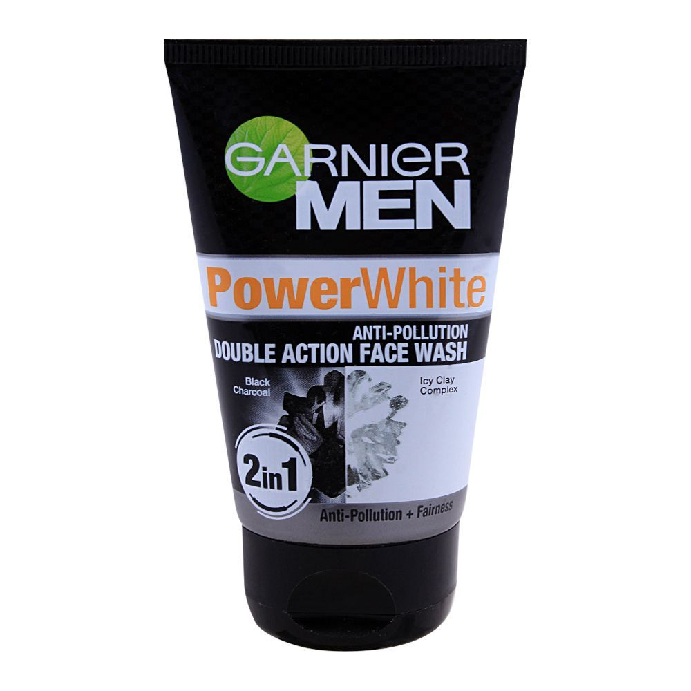 04052c6ba2 Garnier Men Power White Anti-Pollution 2-in-1 Double Action Face Wash 100g