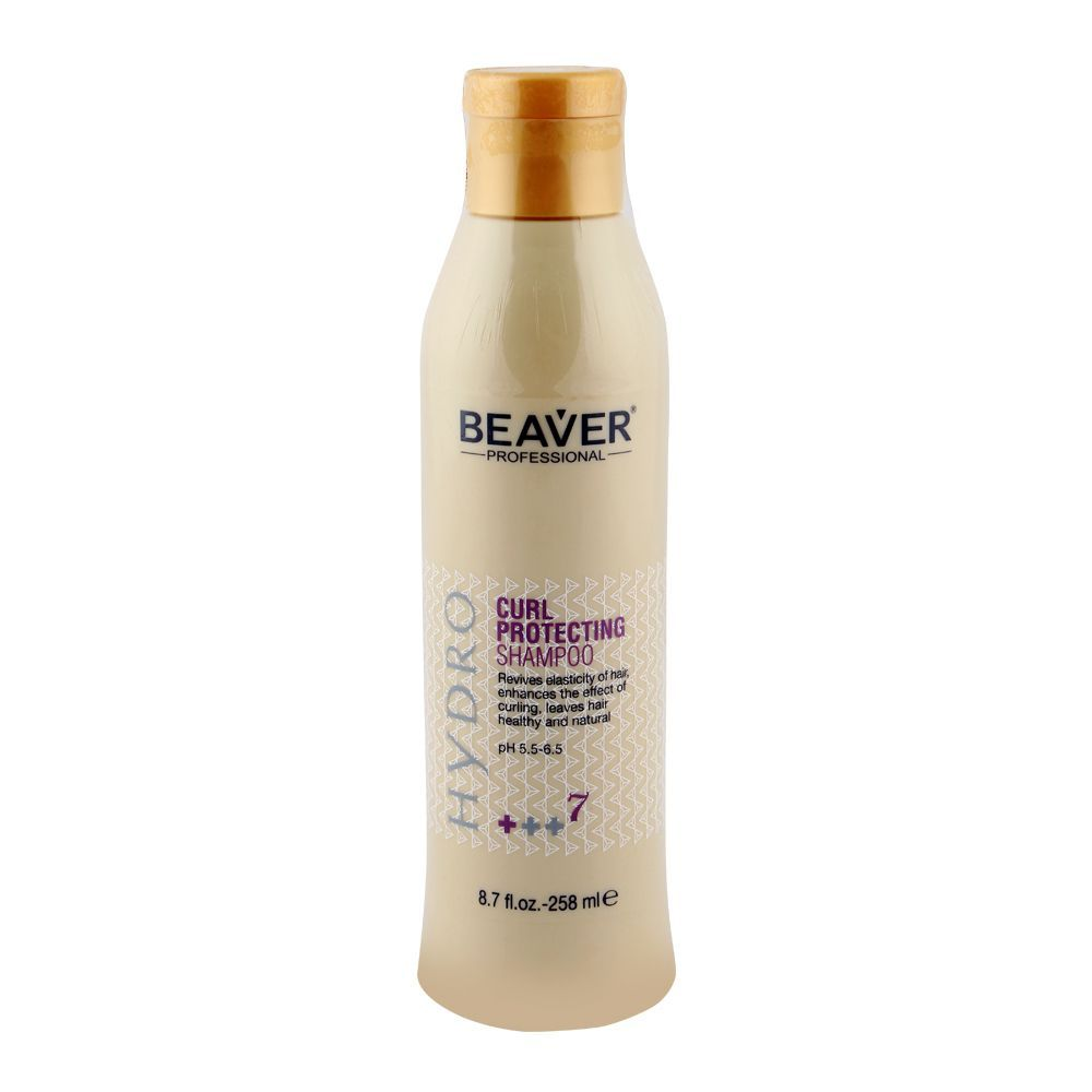 Beaver Professional Hydro Curl Protecting Shampoo 258ml