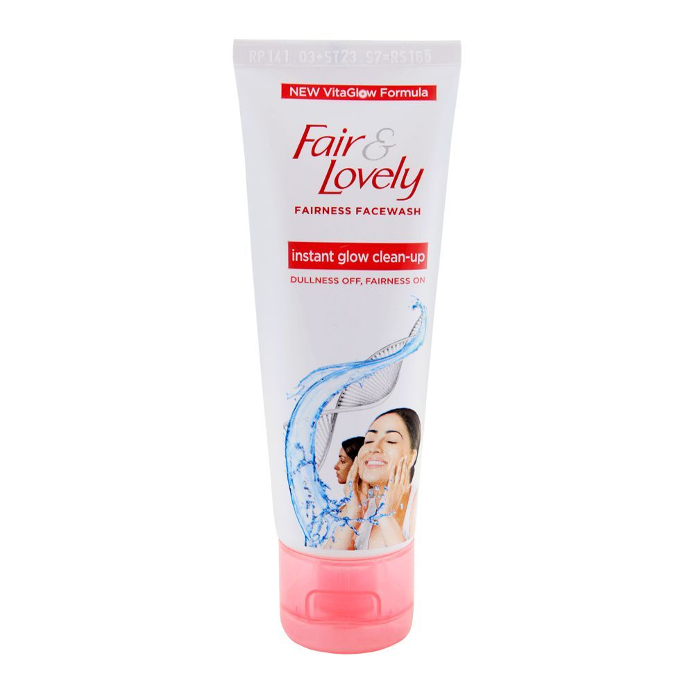 Fair & Lovely Instant Glow Clean Up Fairness Face Wash