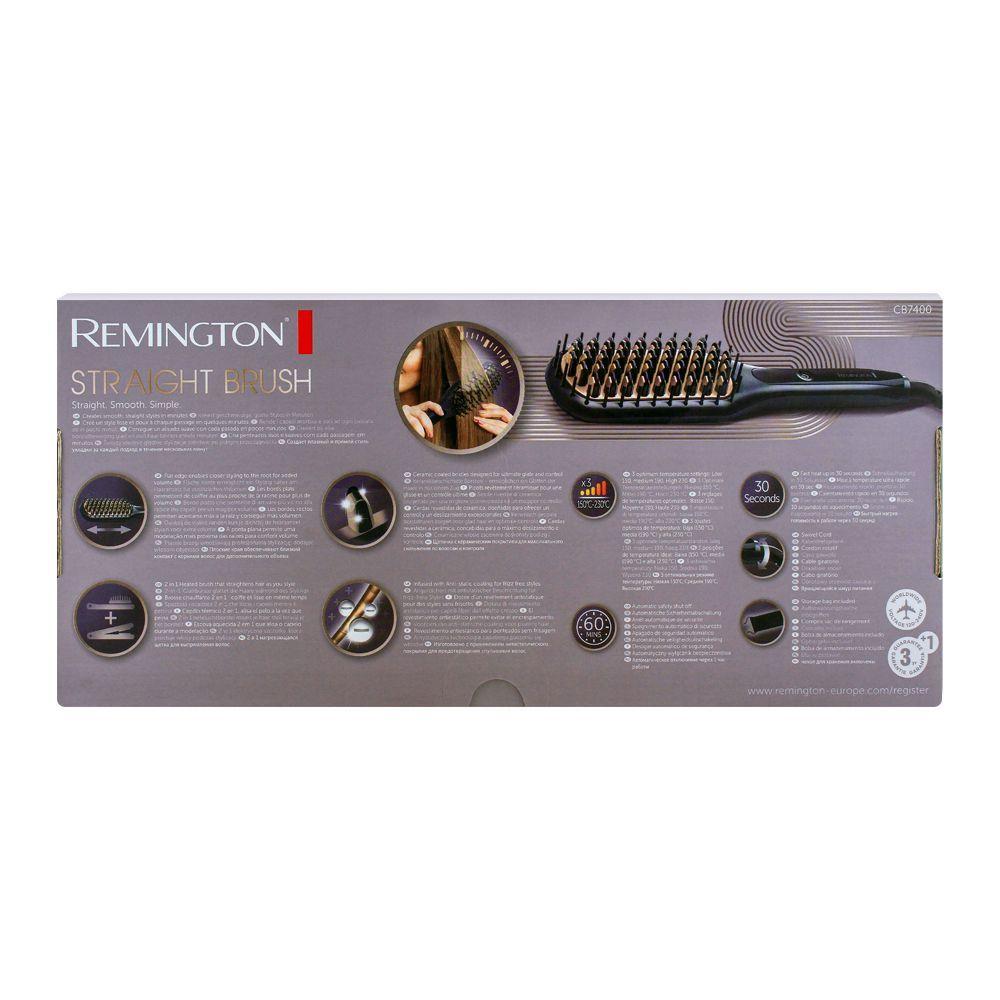 Remington Ceramic Coated Bristles Straight Brush CB7400