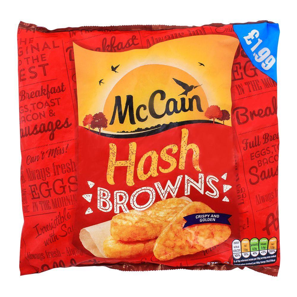 McCain Crispy & Golden Hash Browns 575g