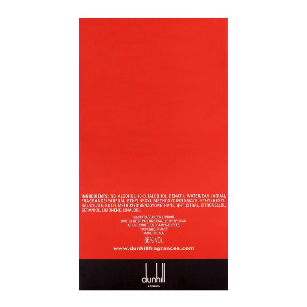 Dunhill Desire Red Extreme Eau de Toilette 100ml