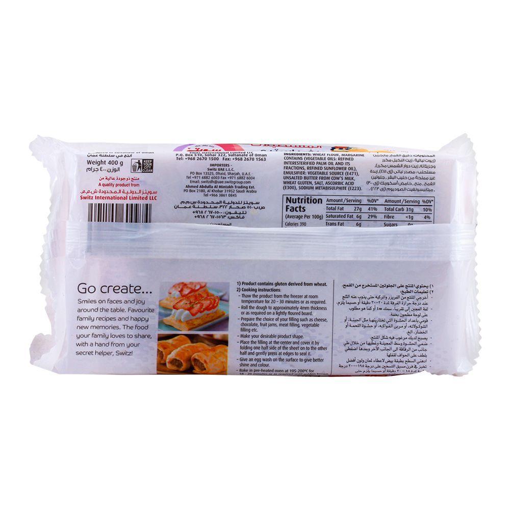 Buy Switz Premium Puff Pastry Rectangles 400g Online At