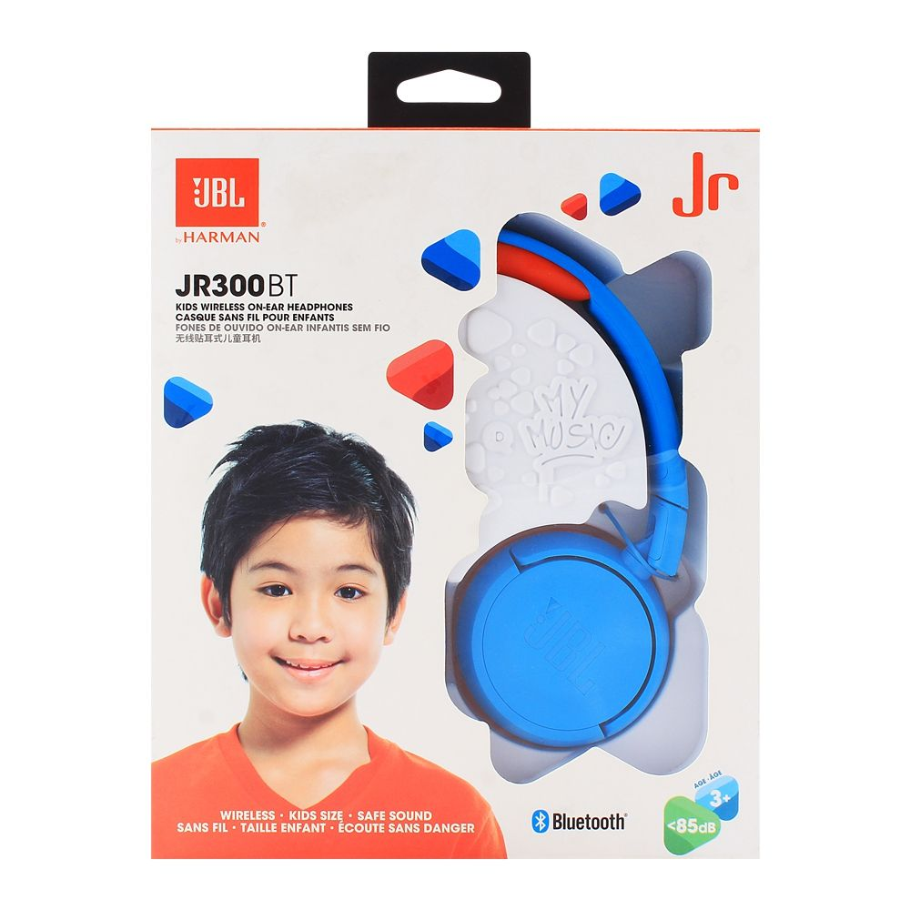 6c2e520bb9e Purchase JBL Kids Wireless On-Ear Headphones Blue - JR-300BT Online ...