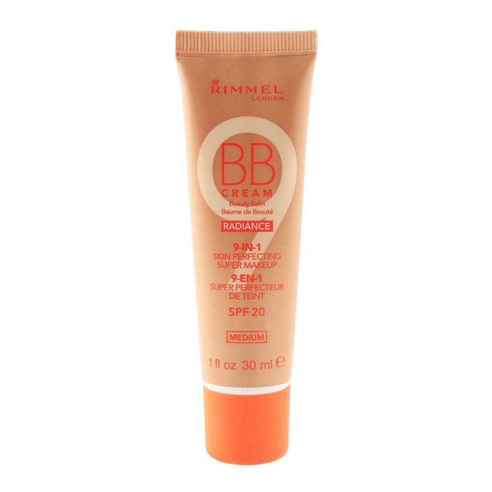 Rimmel BB Cream Radiance 9-in-1 Super
