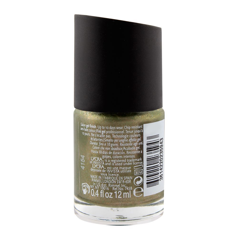 Rimmel Salon Pro Nail Polish 144 Mercury