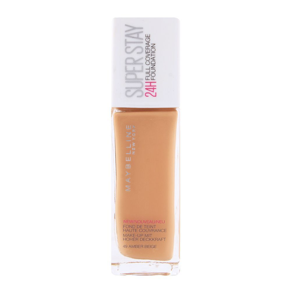 e63c22231ae Buy Maybelline Superstay 24h Foundation 49 Amber Beige Online at ...