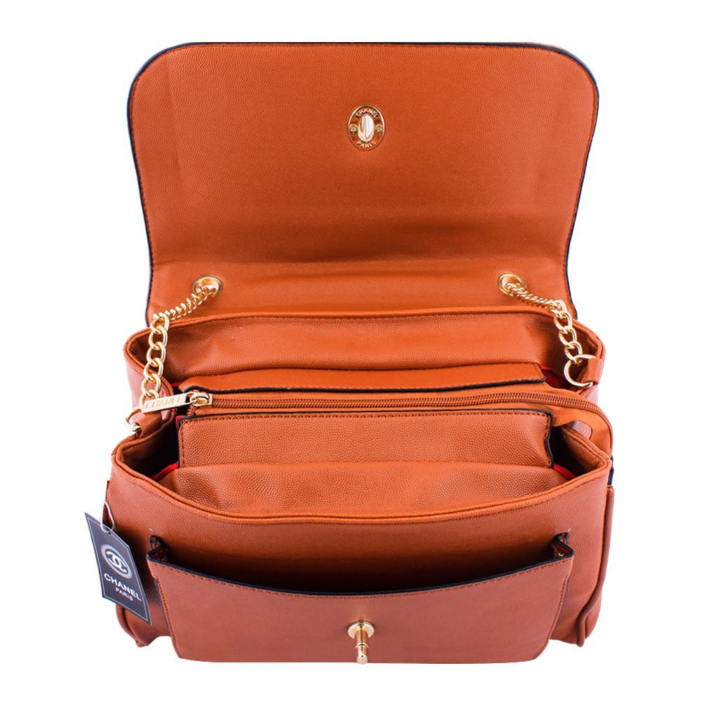 Order Chanel Style Women Handbag Brown 55814 Online At