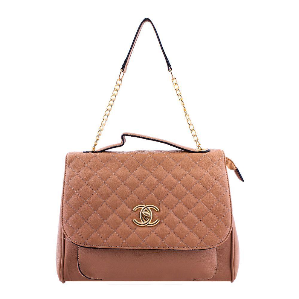 b1e5e2eb1909 Order Chanel Style Women Handbag Apricot - 55814 Online at Best ...