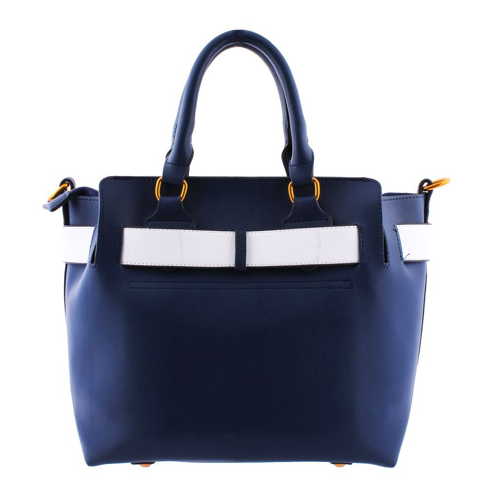 Buy Burberry Style Women Handbag Blue 3839 Online At