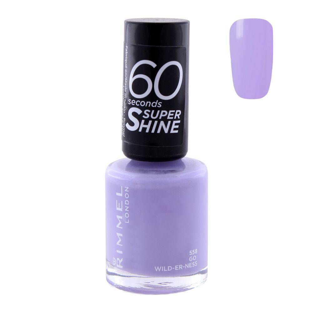 Purchase Rimmel 60 Second Nail Polish 558 Go Wild-Er-Ness Online at ...