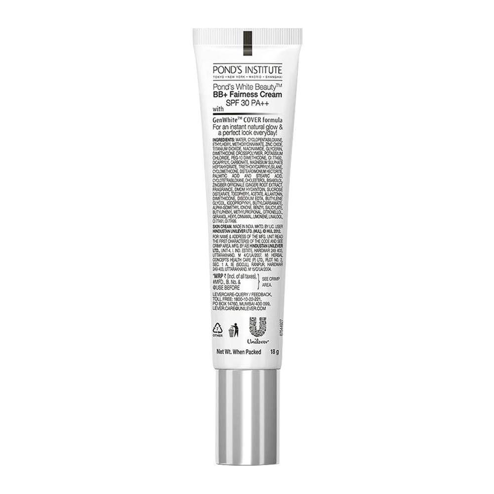 Order Pond's White Beauty BB+ Cream, 01 Original, 18gm ...