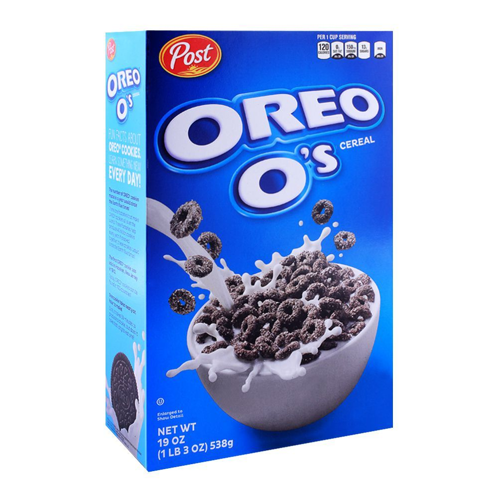 Purchase Post Oreo O'S Cereal 538g Online At Special Price