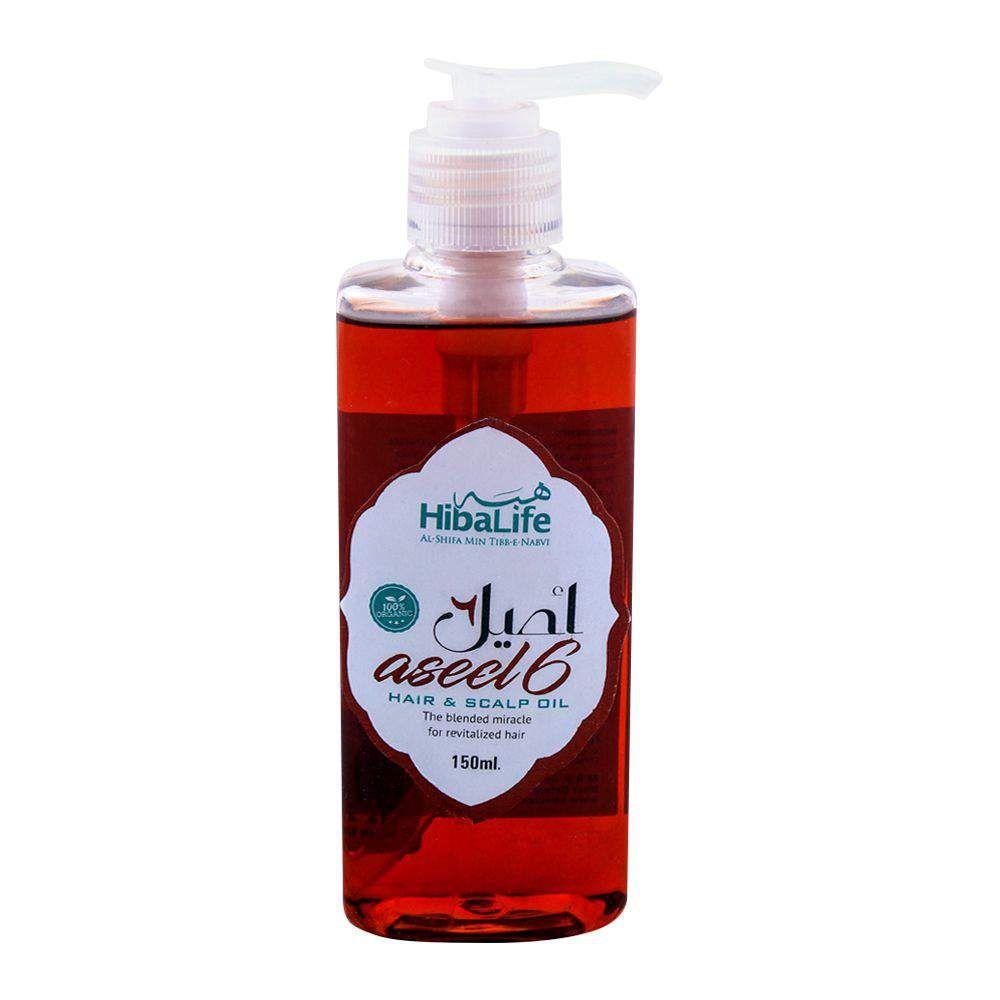 Hiba Life Aseel Hair and Scalp Oil 150ml