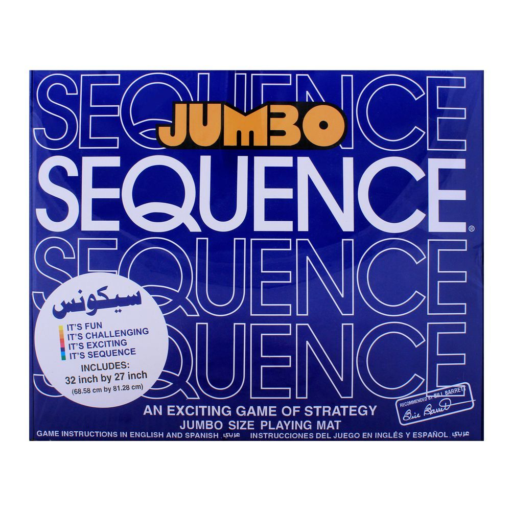 Purchase Live Long Jumbo Sequence Game 55209 Online At Special Price In Pakistan Naheed Pk There are only three rooms in my flat, but they are quite large. live long jumbo sequence game 55209