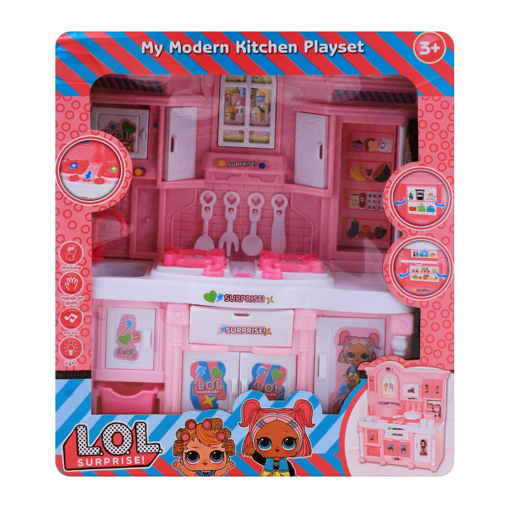 Purchase Live Long Lol Surprise Kitchen Set 3600 2 Online At Best