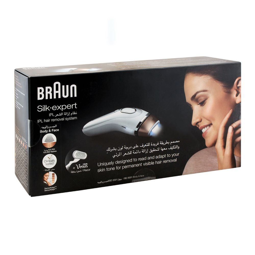 Order Braun Silk Expert Ipl Body Face Hair Removal System Bd 5001 Online At Best Price In Pakistan Naheed Pk