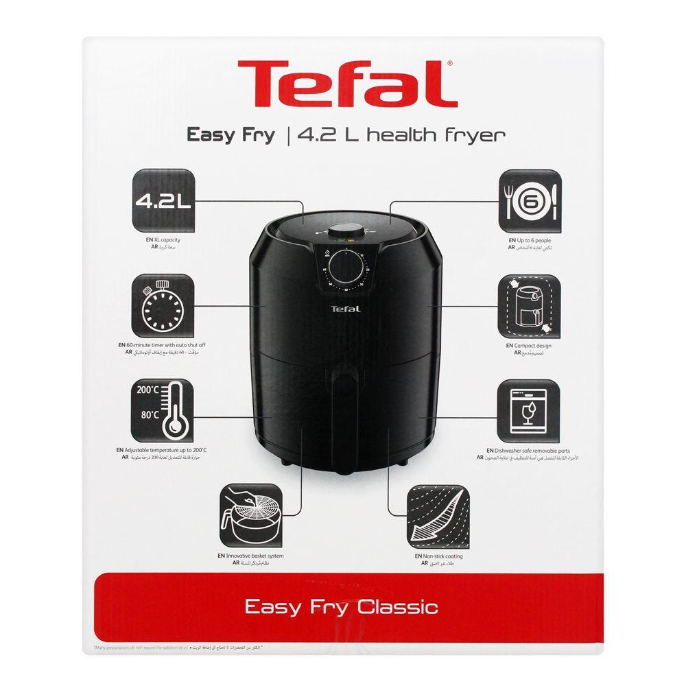 Order Tefal Easy Fry Classic Air Fryer, 4.2 Liters, EY201827