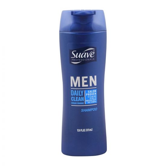 Suave Professionals Men Daily Clean Ocean Charge Shampoo, 373ml