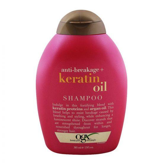 OGX Anti-Breakage + Keratin Oil Shampoo 385ml