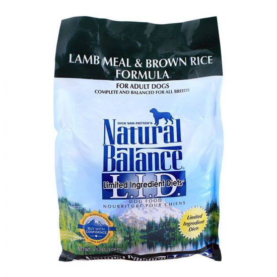 Natural Balance Adult Lamb Meal & Brown Rice Dog Food 2.04 KG