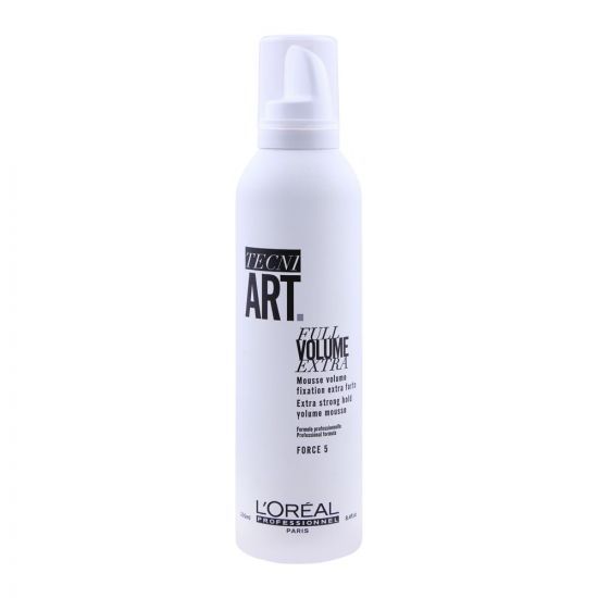 L'Oreal Professionnel Tecni Art Full Volume Extra Strong Hold Volume Mouse, Force 5, 250ml