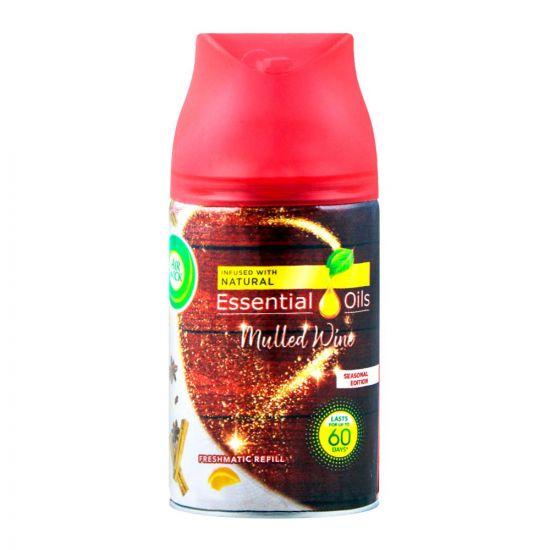 Airwick Essential Oils Freshmatic Refill, Mulled Wine, 250ml