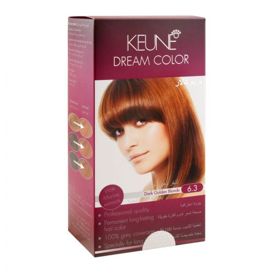 Keune Dream Hair Color, 6.3 Dark Golden Blonde
